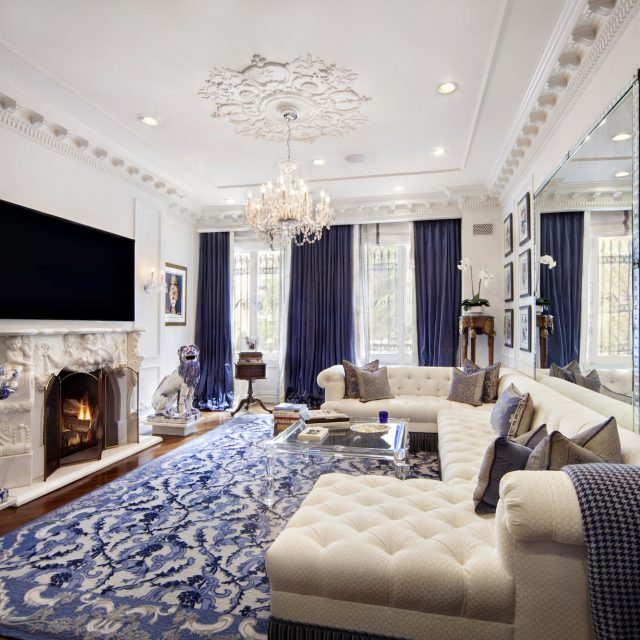 A touch of Versailles comes to the Upper East Side in this luxuriant $2.2M co-op