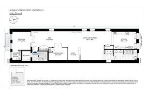 40 great jones street, condo, floorplan