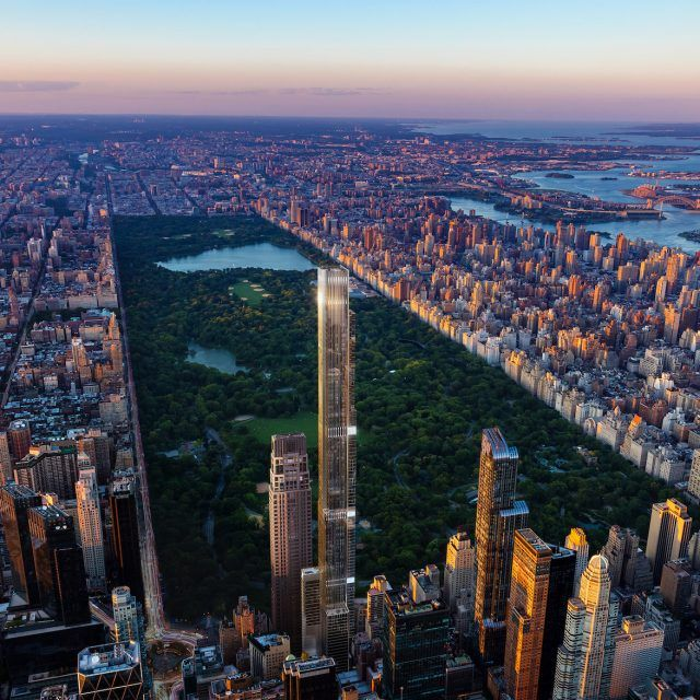 Sales launch at Extell's Central Park Tower, the world's tallest residential building