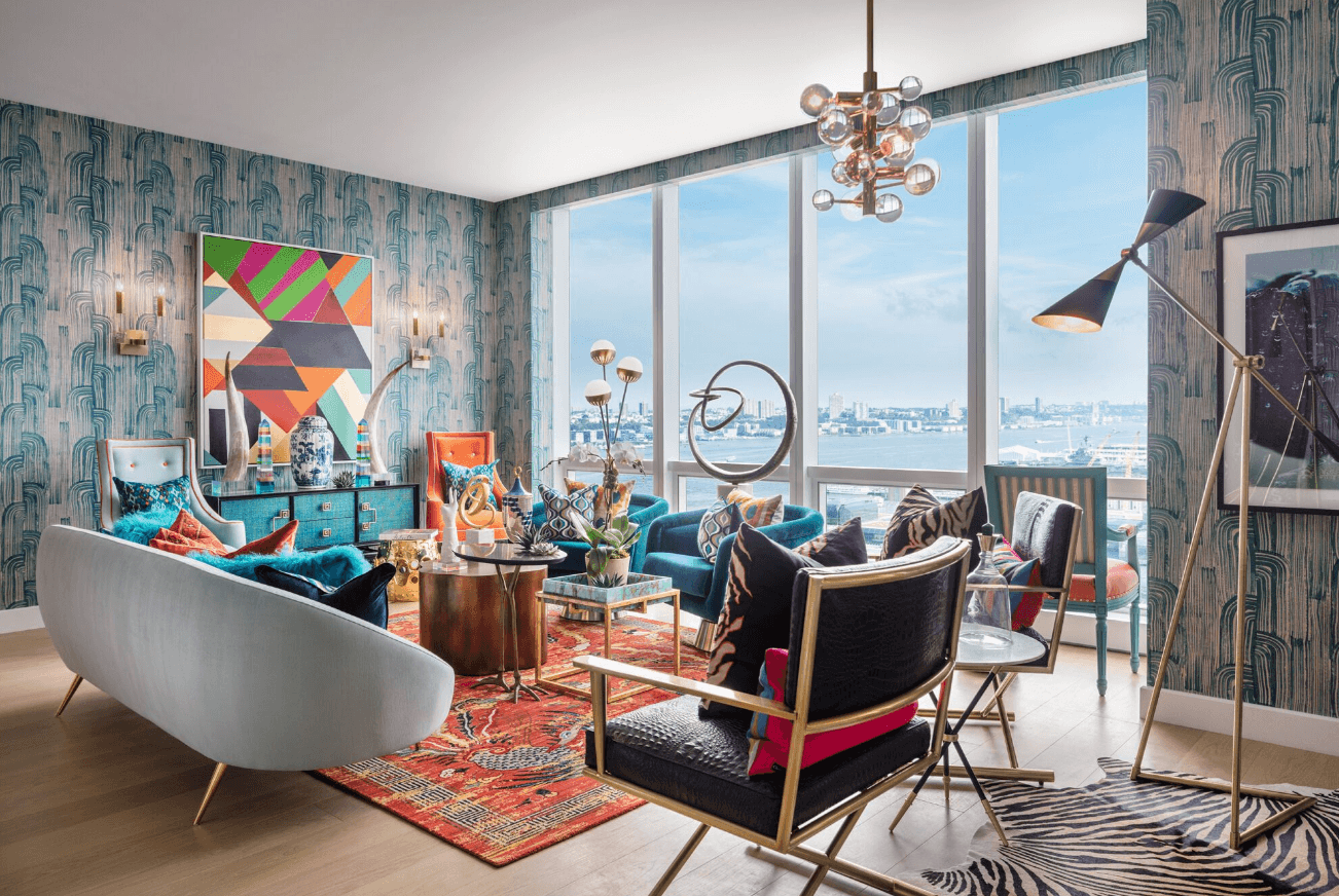 15 Hudson Yards reveals model home with shoppable interiors by ...