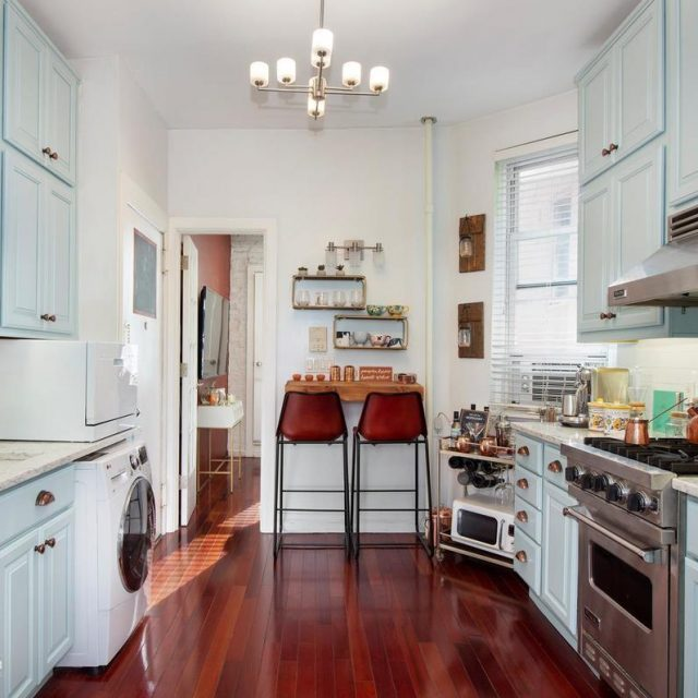 A pastel kitchen takes the cake at this sweet East Village co-op, asking $550K