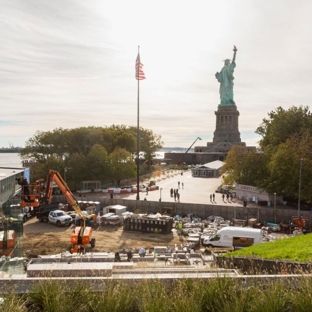 PHOTOS: See how the Statue of Liberty's new museum is shaping up