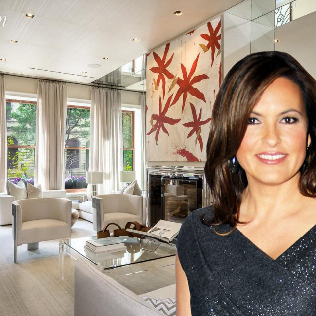 'Law & Order' leading lady Mariska Hargitay lists stylish UWS brownstone for $10.75M