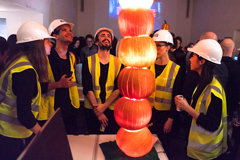 To kick off Halloween weekend, watch NYC architects face off in a pumpkin-carving contest