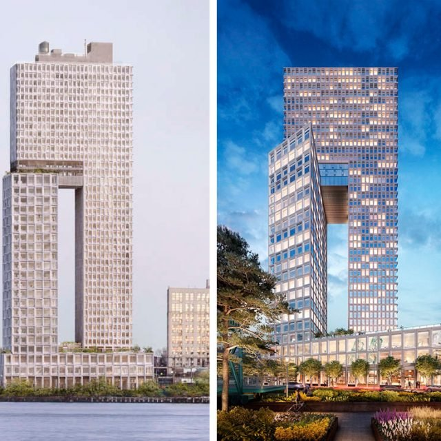 Updated looks for COOKFOX's Domino Sugar building, Williamsburg's will-be tallest