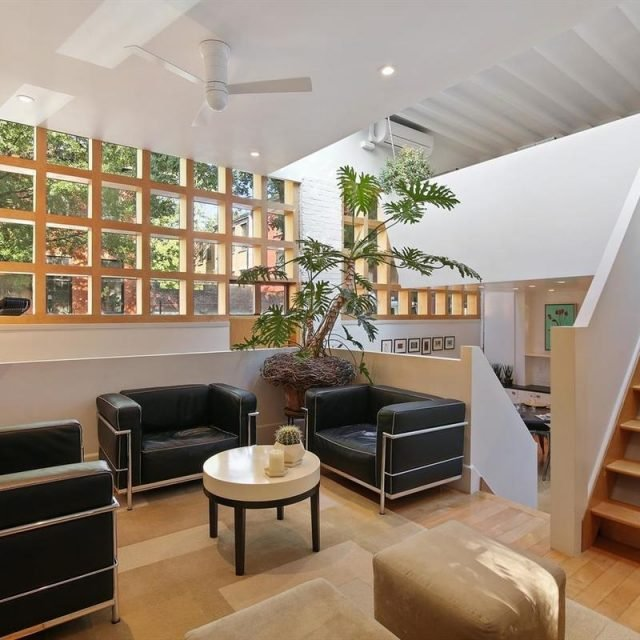 Contemporary 'upside down' townhouse in Boerum Hill asks $1.6M