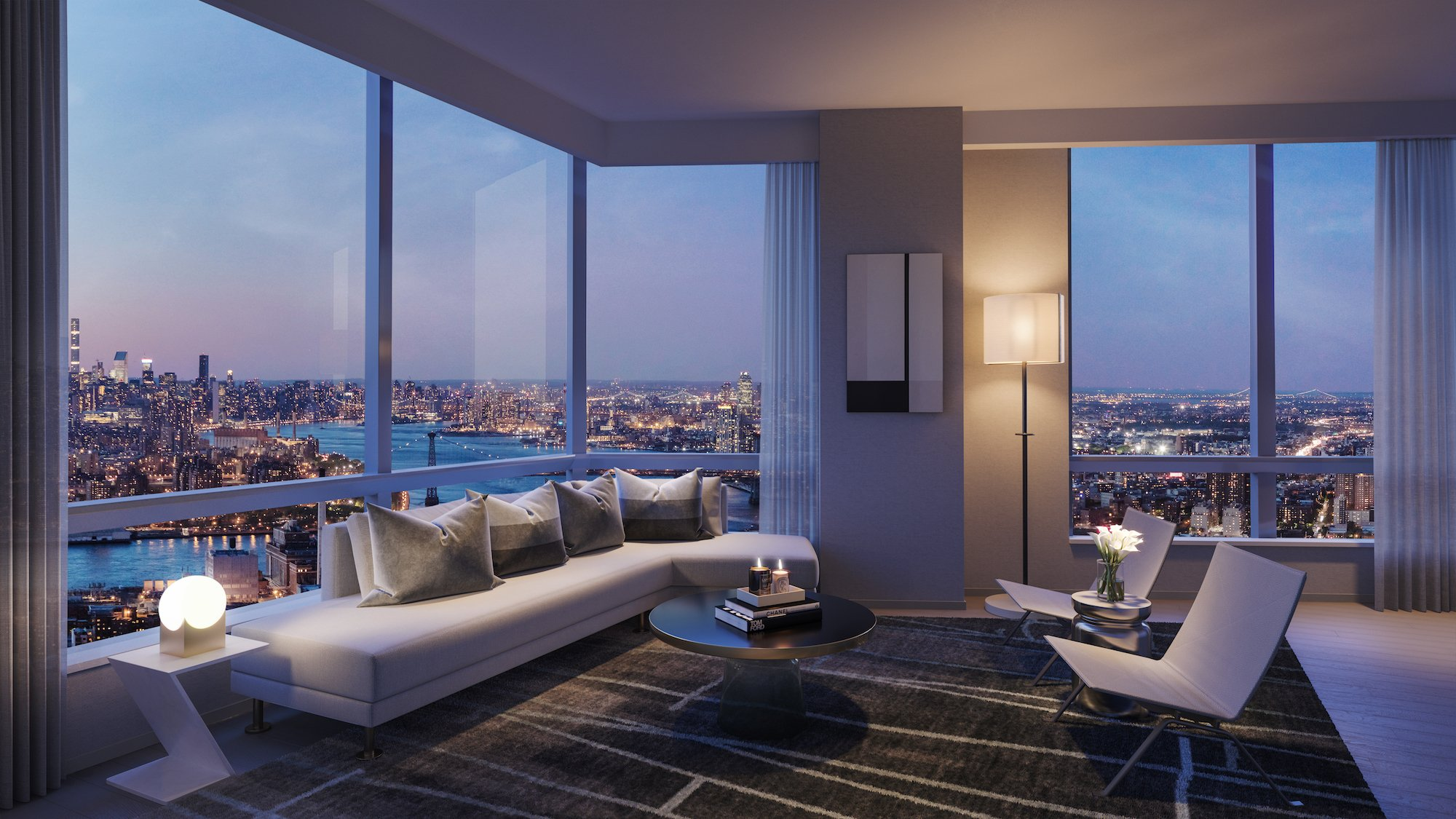 Brooklyn Point's $3 9M penthouse is the highest apartment ever in