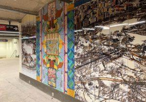 86th street, joyce kozloff, nyc subway art