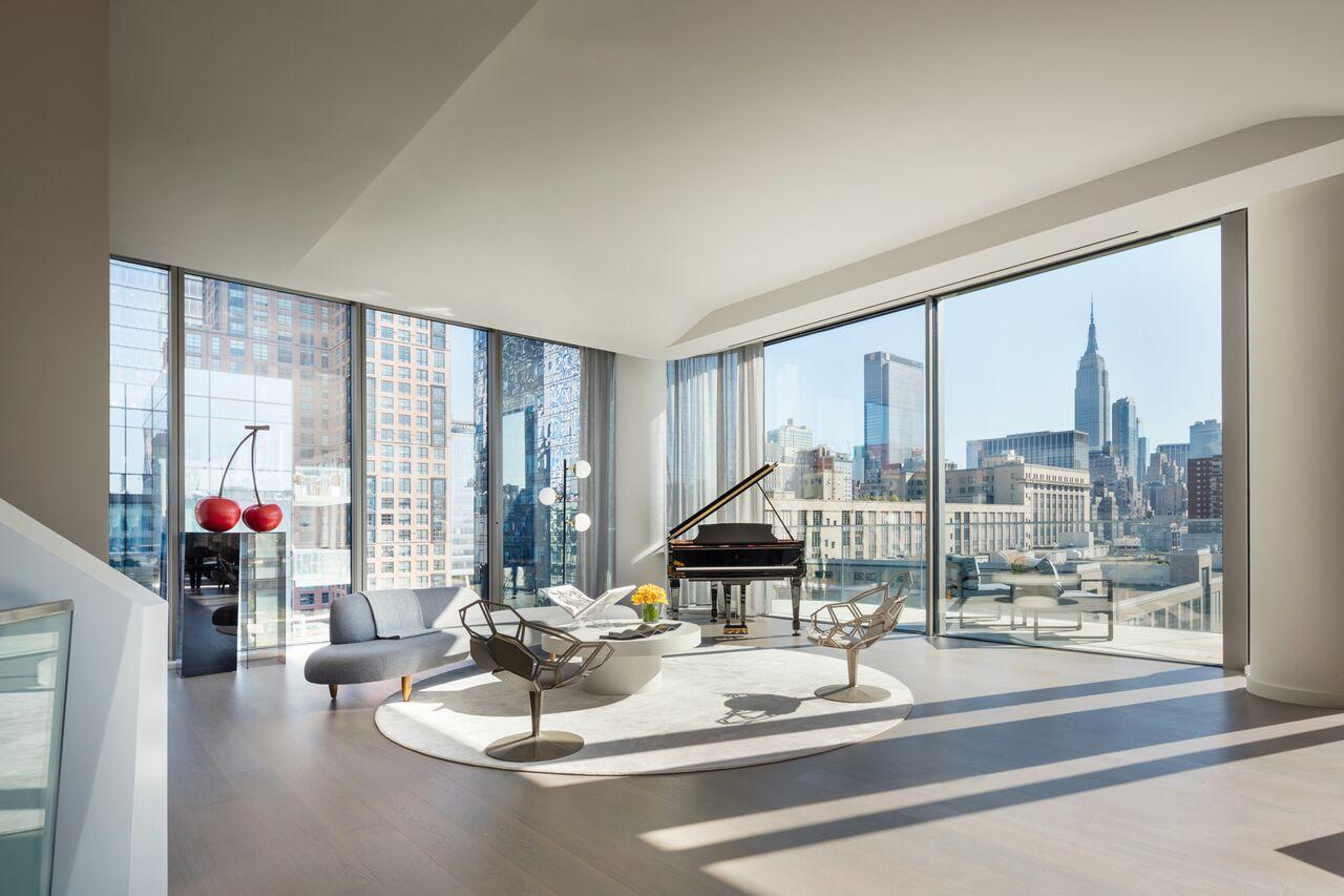 520 West 28th Street, Zaha Hadid, penthouses
