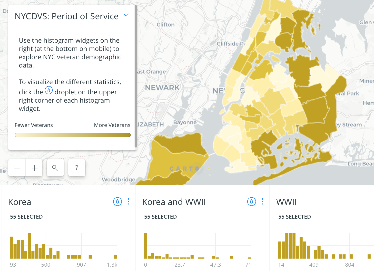 This Map Shows The Diversity Of Nyc S Veterans In Every Neighborhood