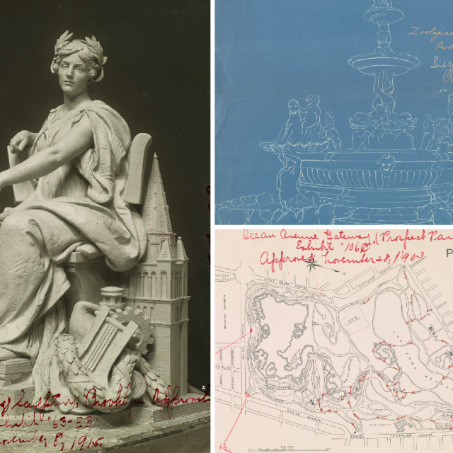 See 120 years of NYC art and architecture planning at the Public Design Commission's Archives