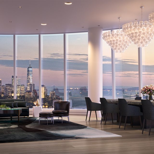 NYC's highest residential outdoor space revealed at Hudson Yards