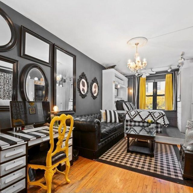 For $335K, this funky Upper East Side studio makes up in style what it lacks in size