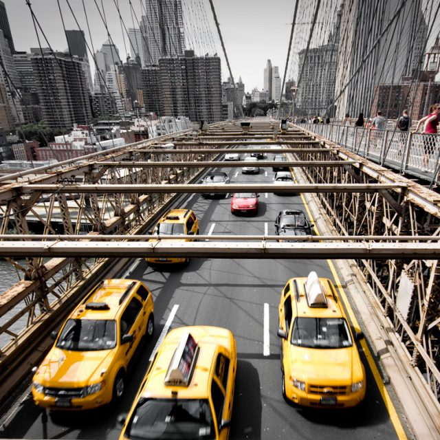 NYC yellow taxis launch a permanent 50% discount during rush hours