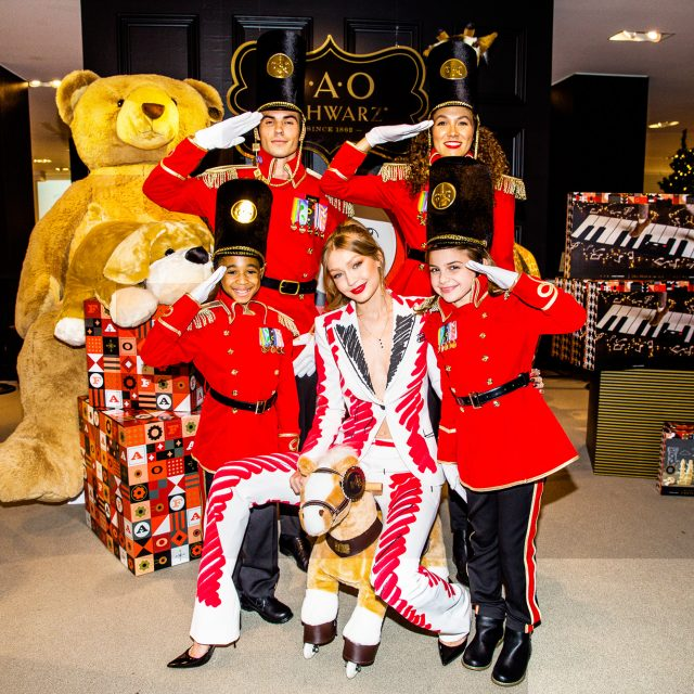 New FAO Schwarz flagship store opens today