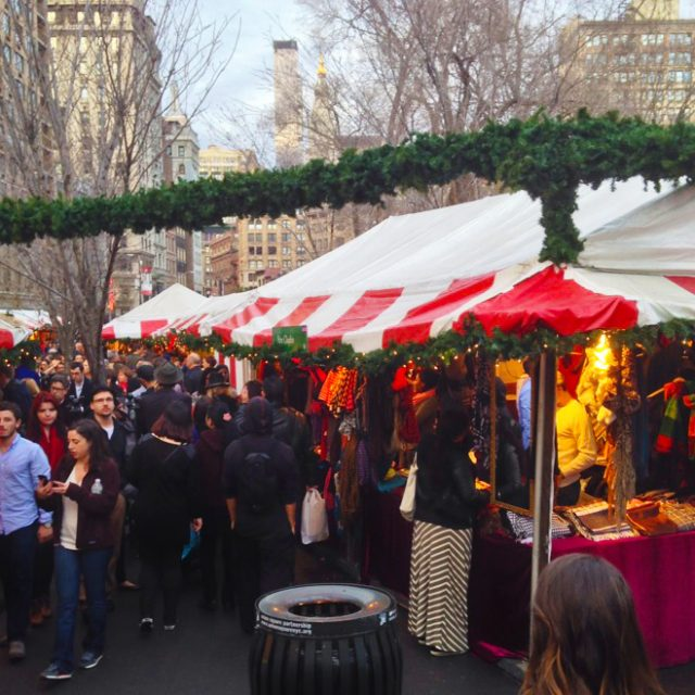The 25-year history of the Union Square Holiday Market