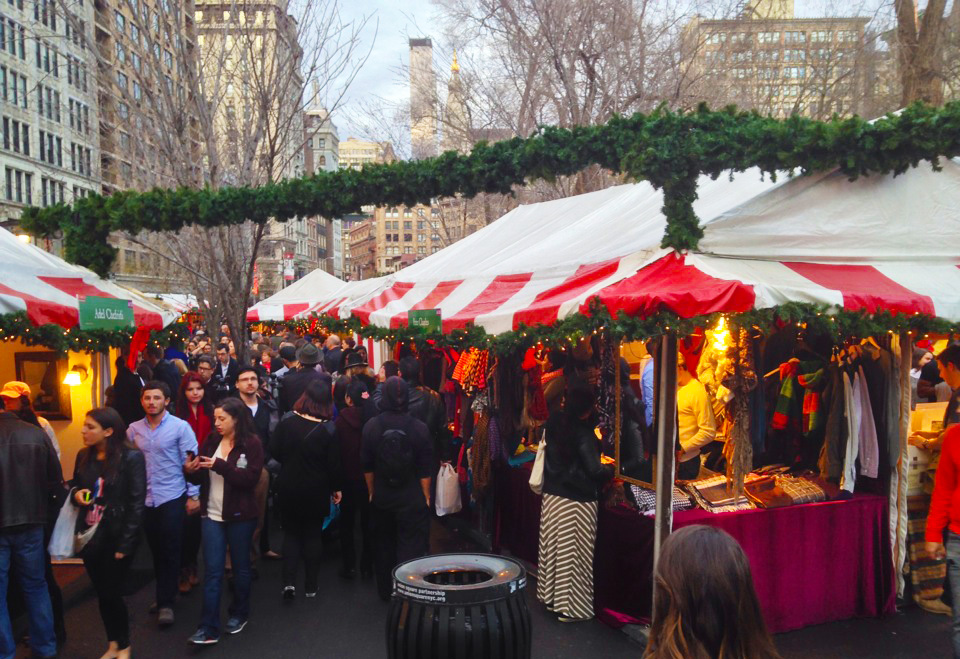 the 25 year history of the union square holiday market 6sqft