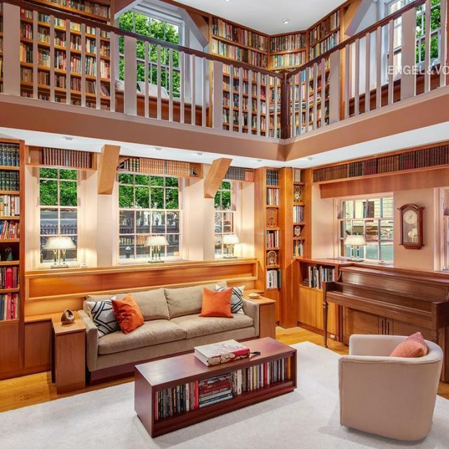 Incredible Greenwich Village co-op can be your own personal library for $5M