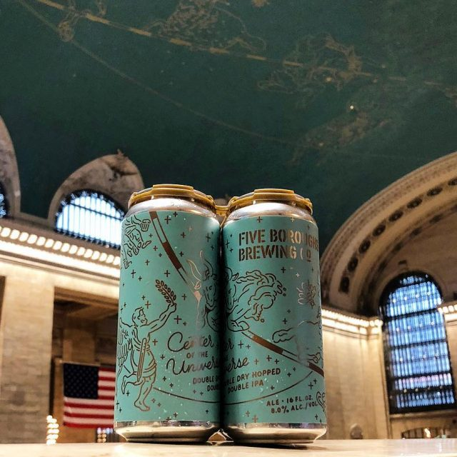 Local brewery honors Grand Central's constellation ceiling with new beer