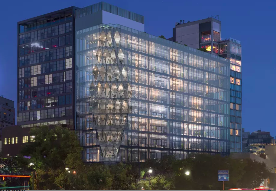 New renderings reveal more of Jeanne Gang's High Line 'Solar Carve' tower