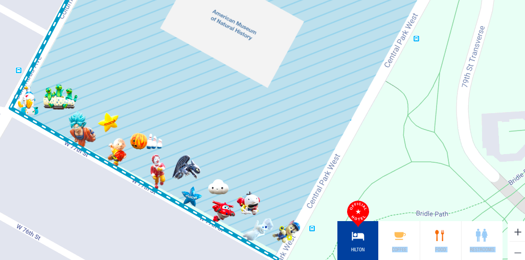 Map Where To Watch The Macy S Thanksgiving Day Parade 6sqft