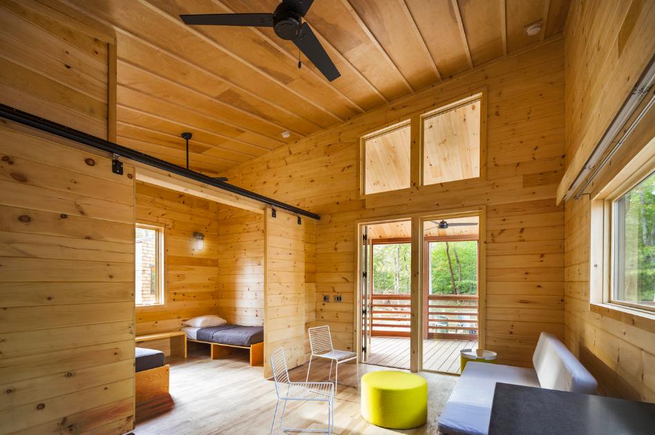 New Long Island Camping Cabins Bring Modern High Quality