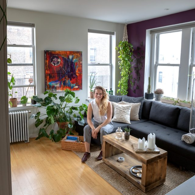 My 280sqft: How a wellness expert used plants and DIY to open up her tiny West Village studio