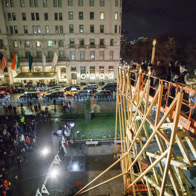 After a battle to be the 'world's largest,' two NYC menorahs continue to spread light