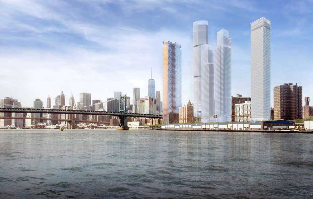 Controversial Two Bridges towers get city approval despite community ambivalence