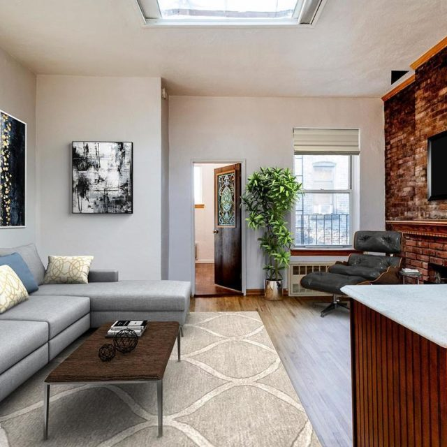 This charming one-bedroom is a piece of West Village history for $835K