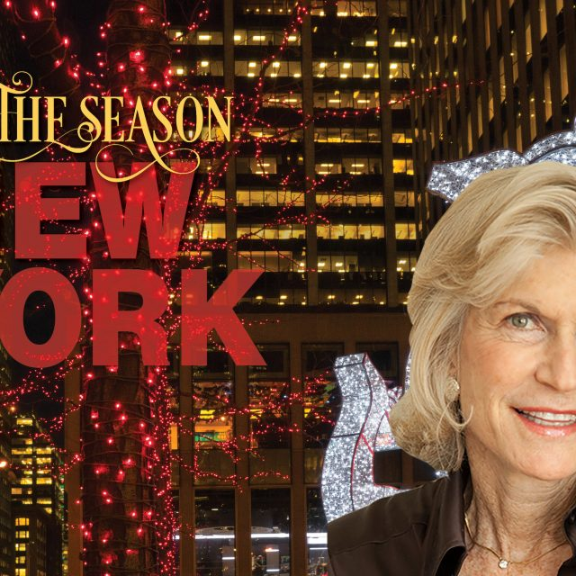Photographer Betsy Pinover Schiff takes us on an illuminated tour of NYC during Christmastime