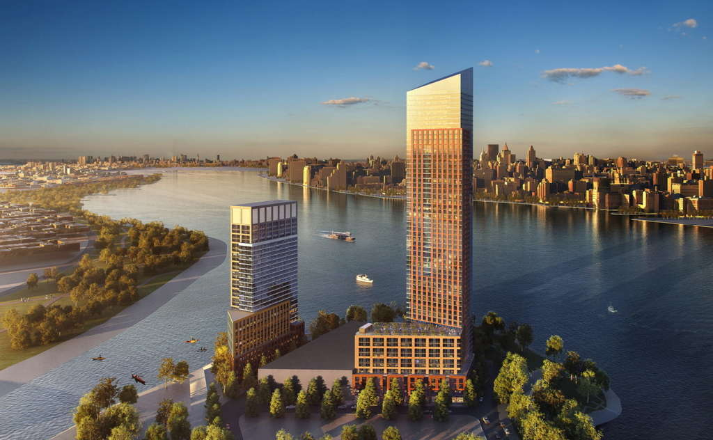 New renderings of 1,100-unit Hunter's Point South project in Long Island City