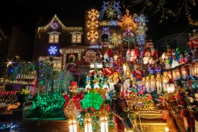 Dyker Heights lights, Dyker Heights Christmas, NYC Christmas lights, Brooklyn Christmas lights
