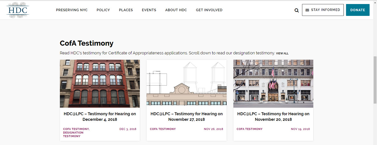 HDC, historic districts council, new york city landmarks, historic districts
