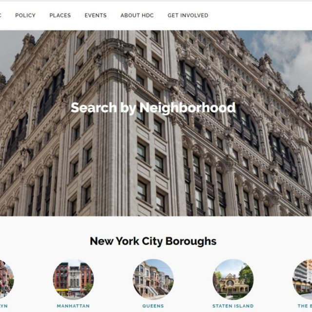 New Historic Districts Council website lists every landmark in NYC