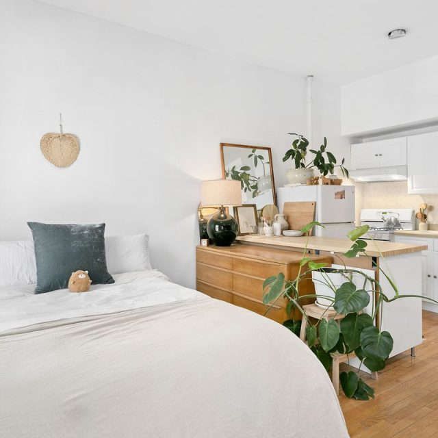 Is $1,850/month for this 272-square-foot Clinton Hill studio a deal for the location?