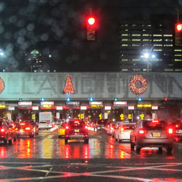 Port Authority launches public poll to decide fate of awkward Holland Tunnel holiday decorations