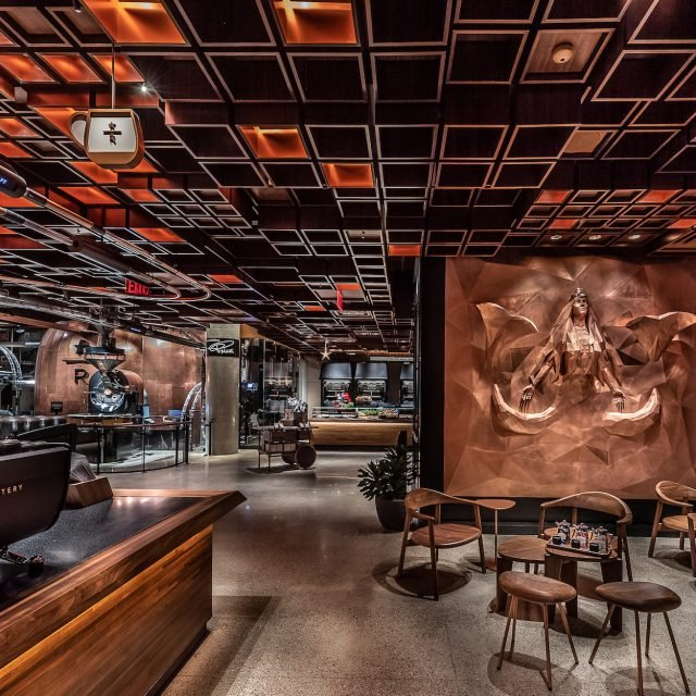 Starbucks is opening a massive 'immersive coffee experience' with a cocktail bar in Chelsea