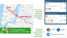 citymapper, l train shutdown, transportation, nyc subway, maps, apps