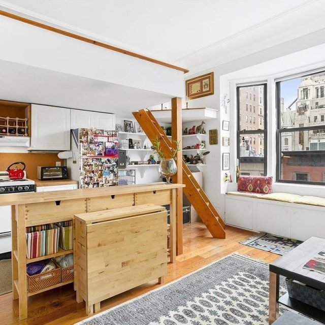 $2,500/month studio may be small, but it's in the heart of the Upper West Side
