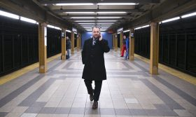 Corey Johnson, NYC subway, City Council Speaker