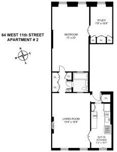 64 West 11th Street, Greenwich Village co-op
