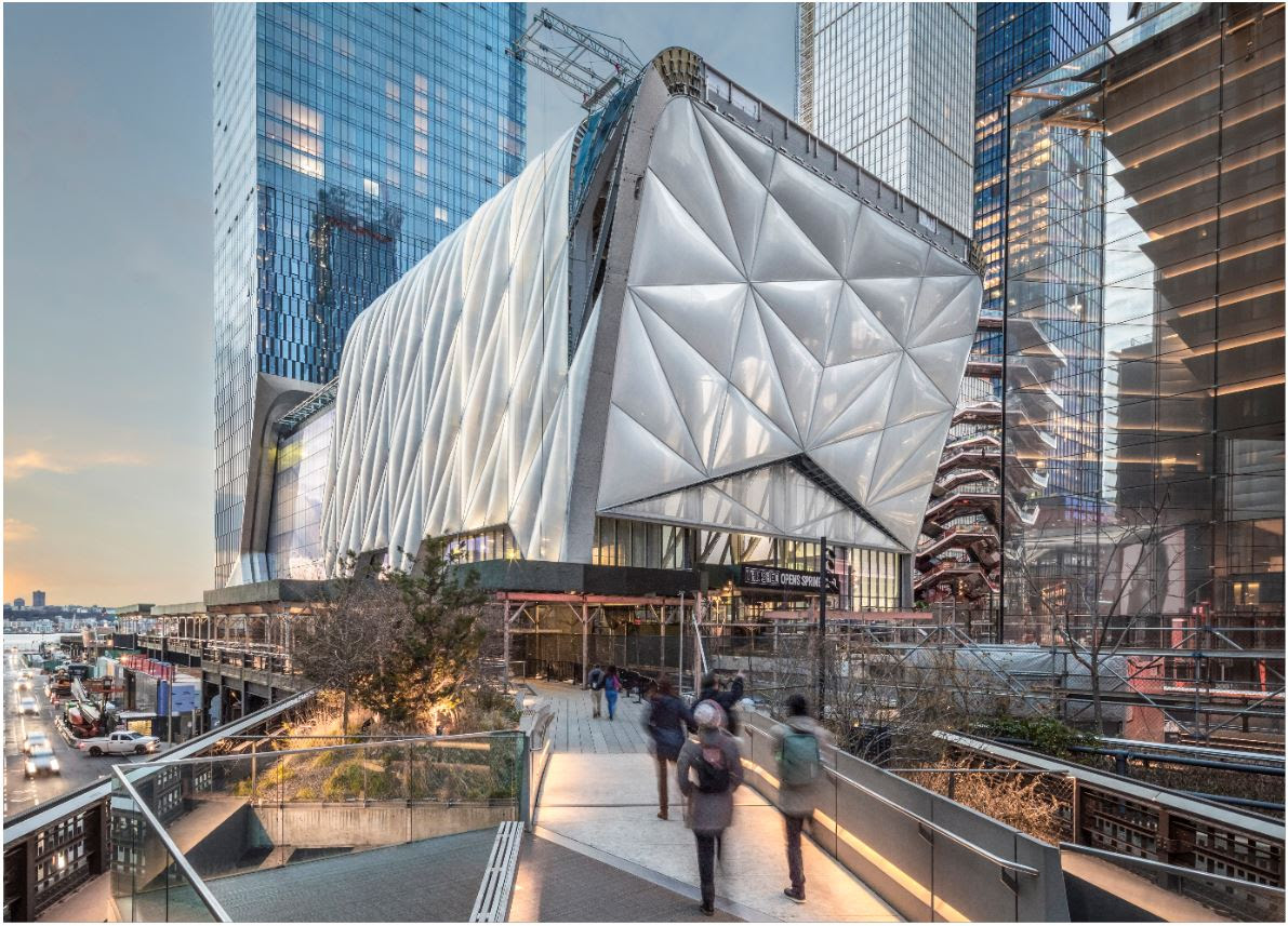 Hudson Yards Arts Center The Shed Announces 121 Seat