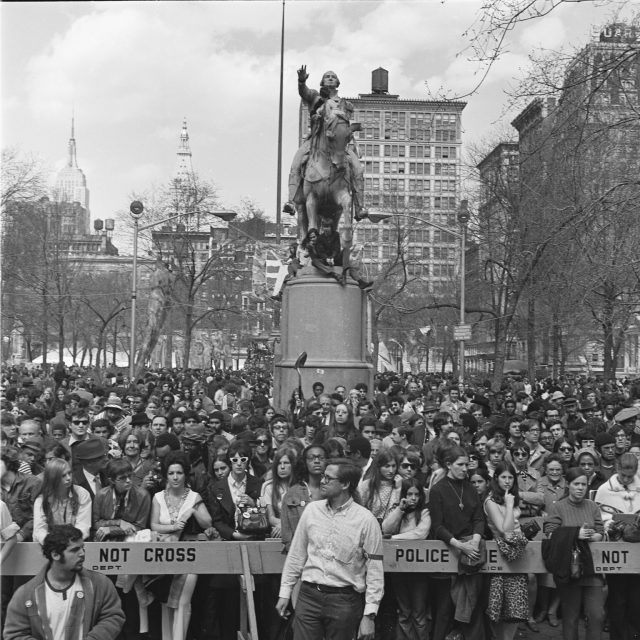 Power to the people: Looking back on the history of public protests in NYC Parks