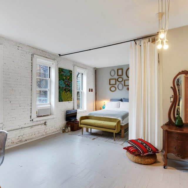 Rustic and industrial touches mix at this $725K Chelsea co-op
