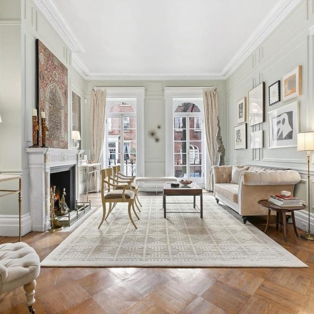 Architectural styles combine in this historic Greenwich Village townhouse, now asking $13.5M