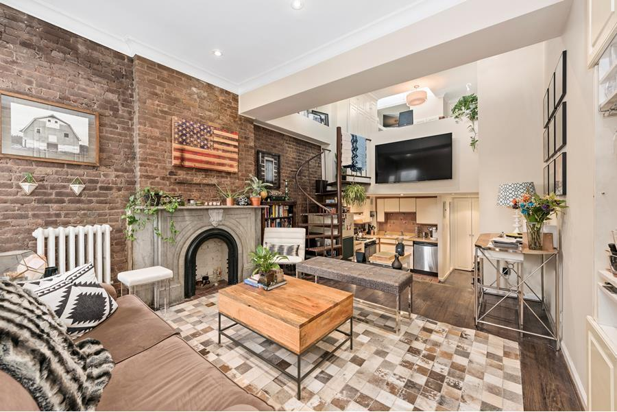 For $825K, this Hell's Kitchen duplex is as efficient as it is charming