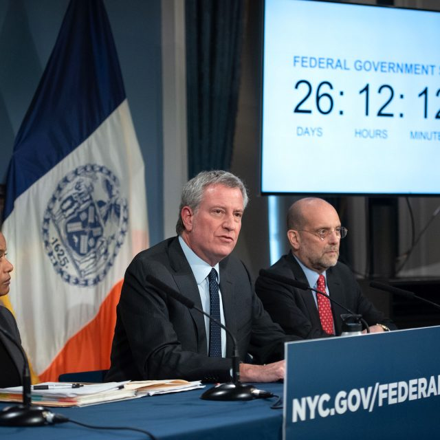 NYC will lose $500M monthly if government shutdown continues
