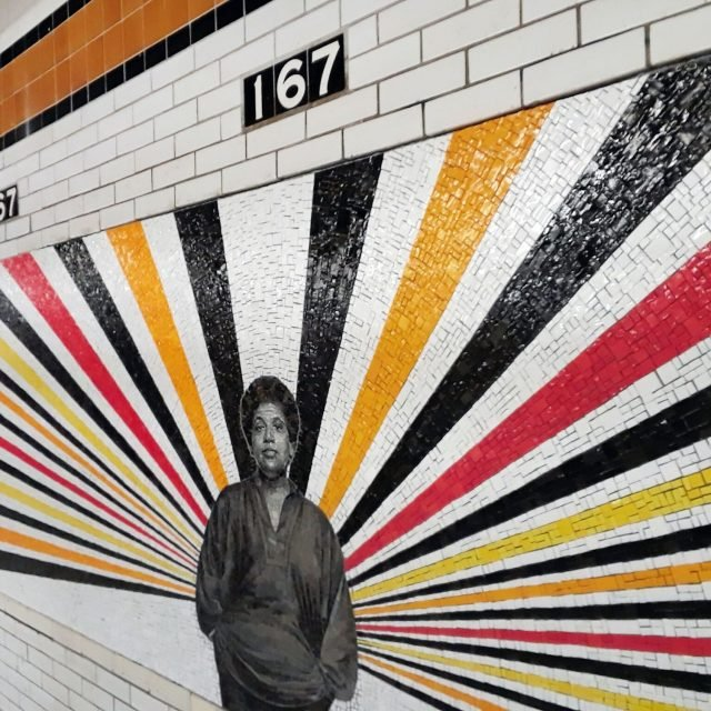 Bronx icons radiate light in Rico Gatson's murals at reopened 167th Street station