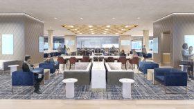 Metropolitan Lounge, Moynihan Train Hall, Amtrak